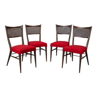 Paul McCobb for Directional Irwin Collection Dining Chairs - Set of 4 For Sale