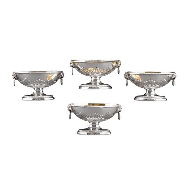 Georgian Paul Storr Silver Salts For Sale - Image 3 of 3