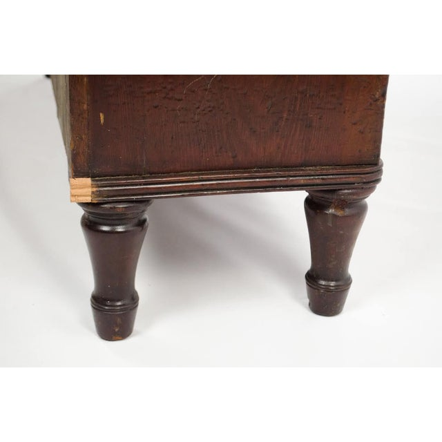 19th Century English Traditional Mahogany 3 Shelf Etagere For Sale - Image 4 of 13