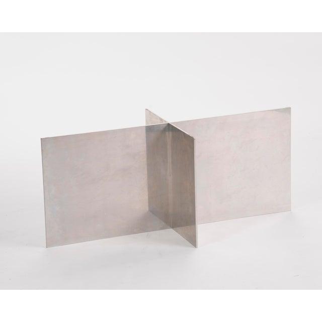 Paul Mayen Habitat Aluminum Coffee Table For Sale - Image 12 of 12