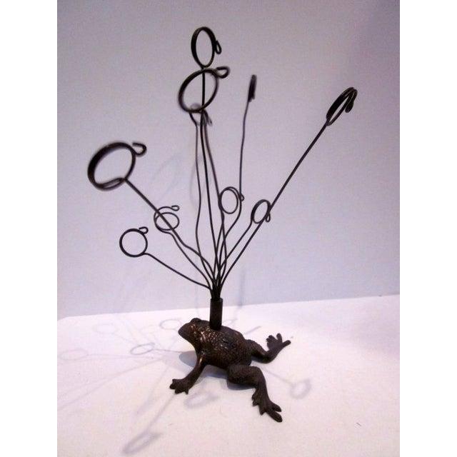 Vintage Hollywood Regency Brass Frog - Image 2 of 6