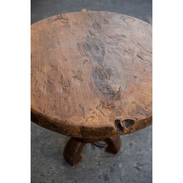 Vintage Teak Slab Coffee Table - Image 3 of 6