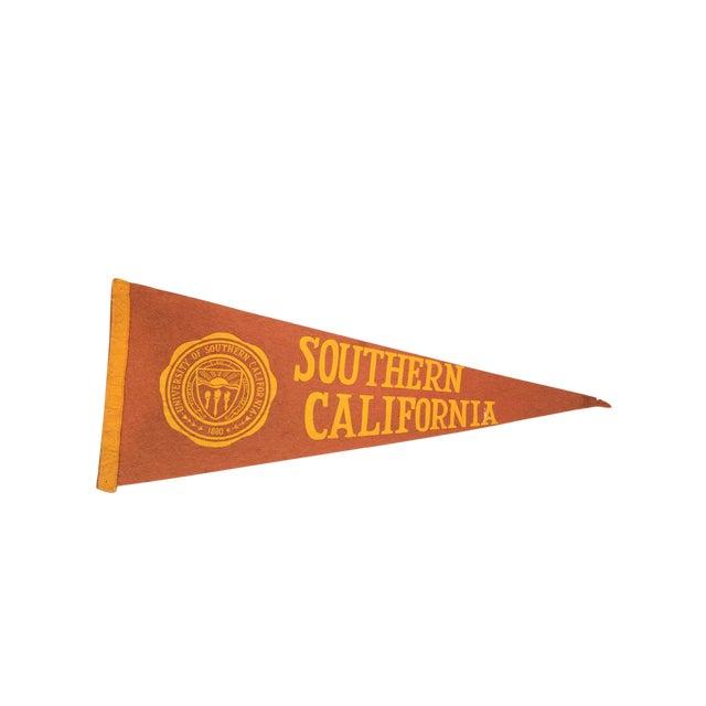 University of Southern California Felt Flag - Image 1 of 3