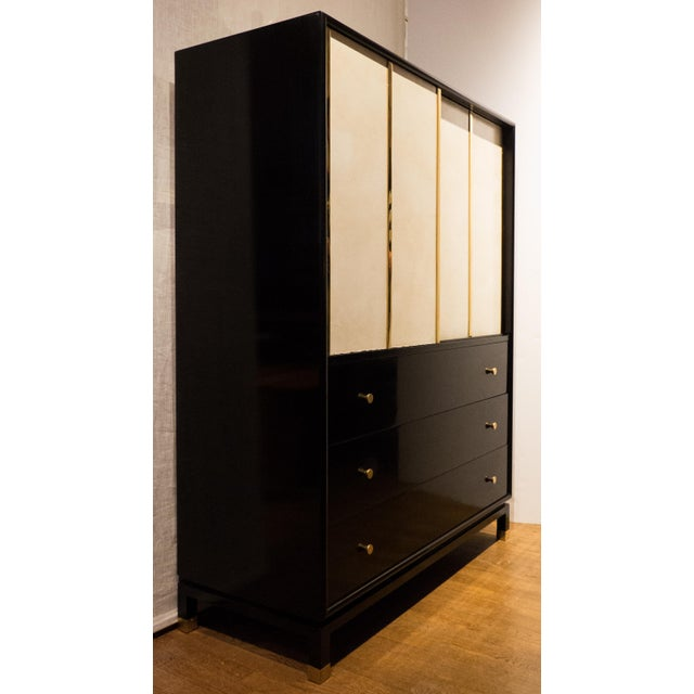 Harvey Probber Cabinet with Sliding Doors - Image 5 of 11