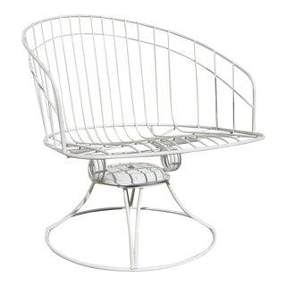 Mid - Century Modern Homecrest Swivel/Rocker Barrel Chair