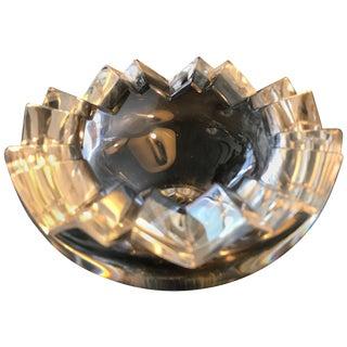 Rosenthal Modernist Crystal Glass Vide-Poche Dish For Sale