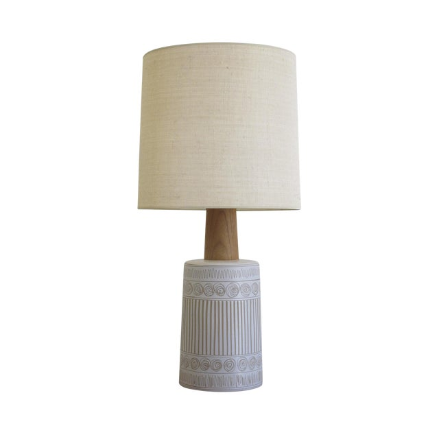 Mid-Century Martz Glazed Ceramic Lamp for Marshall Studios For Sale