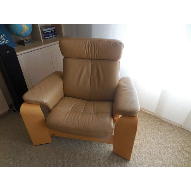 Ekornes ASA Stressless Leather Reclining Chair - Image 2 of 6