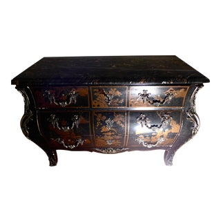 Louis XV Bombe Dresser For Sale