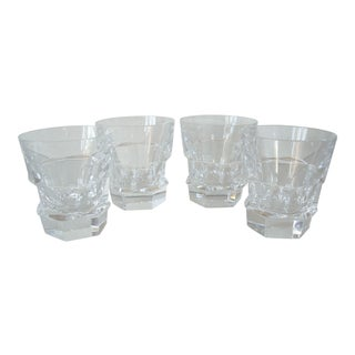 1980s Baccarat Highball Crystal Glasses - Set of 4 For Sale