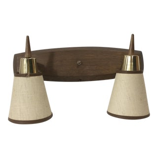 Mid-Century Modern Danish Style Wall Lamp - Reading Light For Sale