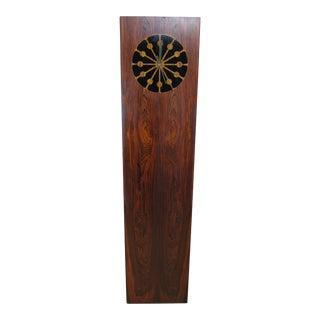 1964 Mid-Century Modern Kipp Stewart for Drexel Declaration Rosewood Floor Clock
