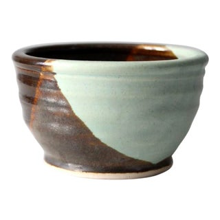 Generous Earth Pottery Hand Crafted Studio Pottery Bowl For Sale