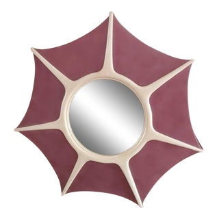 Lexington Furniture Aquarius Fairie Lilac & Bone 7 Pt. Star Wall Mirror For Sale
