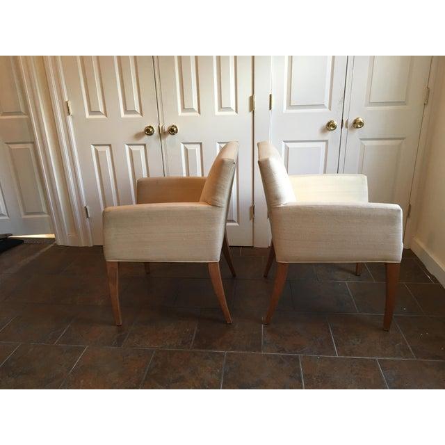 Van Cleef & Arpels Mid-Century Modern Van Cleef & Arpels Sycamore Bergeres - a Pair For Sale - Image 4 of 13
