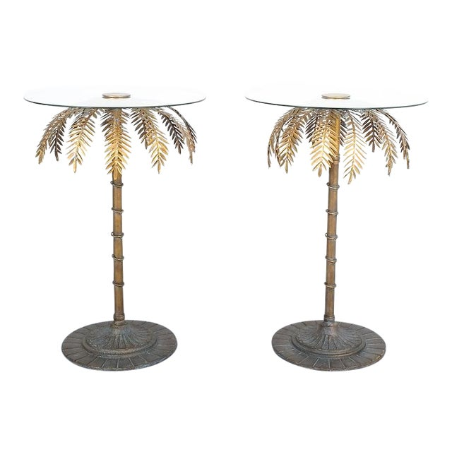 Iron Centre or Side Tables Style Maison Charles, Circa 1955 For Sale