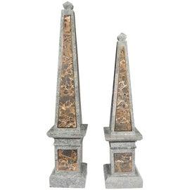 Image of Maitland - Smith Obelisks