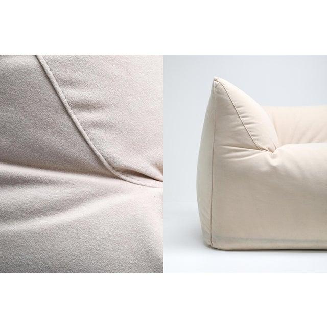 Mario Bellini 'Le Bambole' Three-Seat Couch in Alcantara For Sale - Image 9 of 10