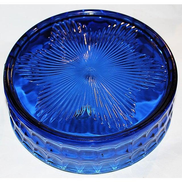 Imperial Cobalt Lidded Bowl - Image 6 of 6