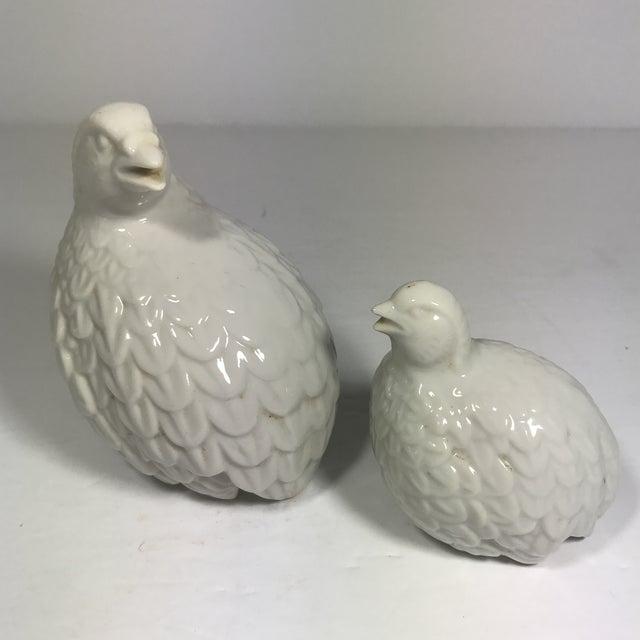 A Pair of Vintage Porcelain Partridge Birds - Image 6 of 8