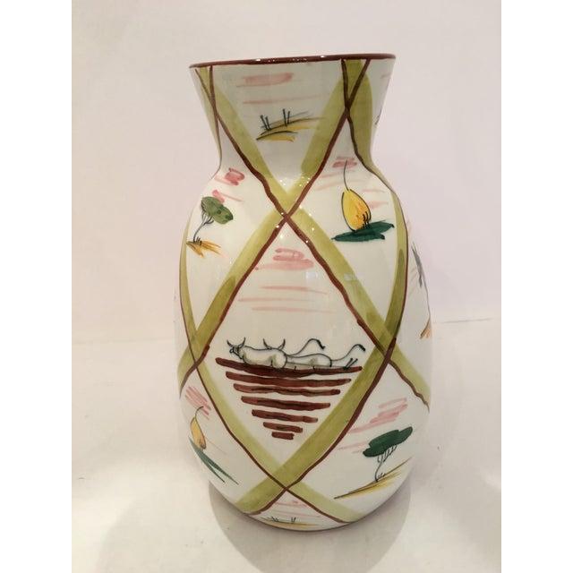 Italian Majolica Donkey Vase - Image 5 of 11