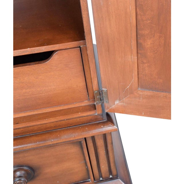 American Classical Final Markdown Vintage Ralph Lauren Mahogany Armoire For Sale - Image 3 of 5