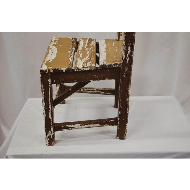 Vintage Child's Chair For Sale - Image 10 of 13