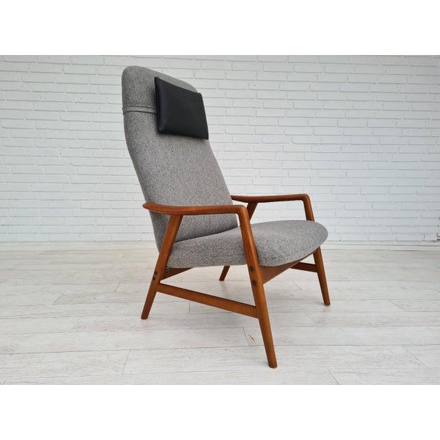 Danish Design by Alf Svensson, Model Kontour, 70s, Completely Renovated-Reupholstered For Sale - Image 13 of 13