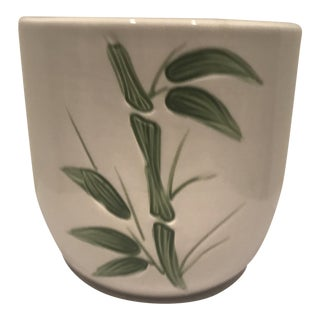 Bamboo Motif Cachepot For Sale
