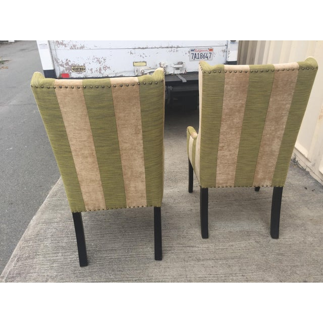 Lounge or Dining Chairs a Pair For Sale - Image 4 of 10