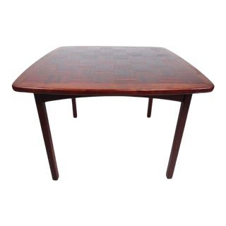 Mid-Century Modern Rosewood Dining Table by Poul Cadovius For Sale