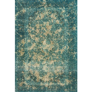 Schumacher Patterson Flynn Martin Trifid Hand-Knotted Wool Modern Rug - 6'8'' X 9' 10'' For Sale