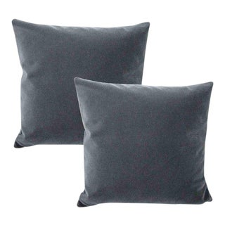 Schumacher San Carlo Mohair Pillows~Set of 2 ~ Down Feather Inserts Included.