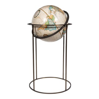 Paul McCobb Style World Globe For Sale