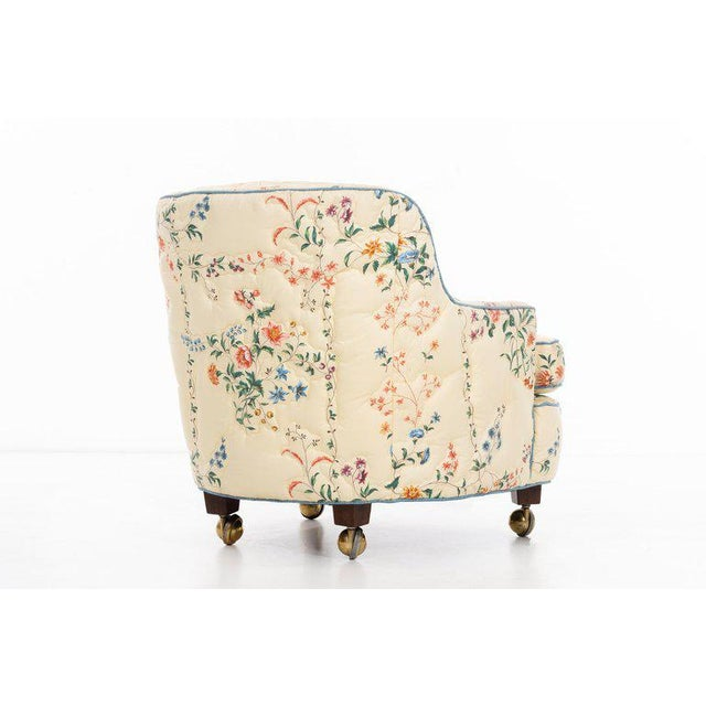 Edward Wormley Pair of Chairs For Sale In New York - Image 6 of 10