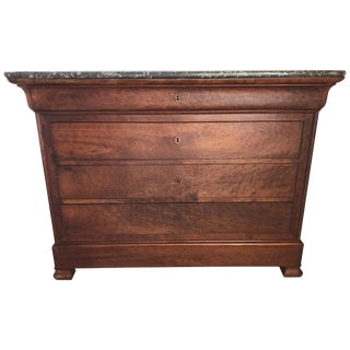 19th Century Louis Philippe Chest of Drawers For Sale