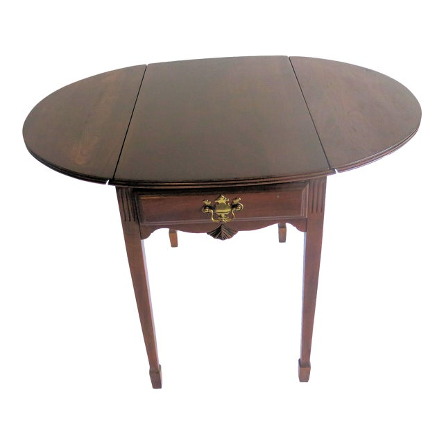 Chippendale Style Diminutive Pembroke Table For Sale