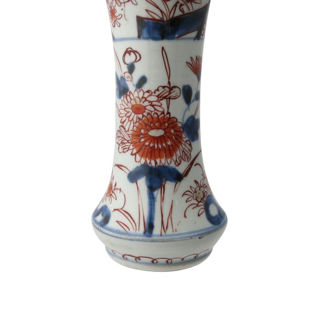 17th Century Antique Japanese Porcelain 5 Piece Porcelain Garniture - Set of 5 For Sale In Charleston - Image 6 of 13