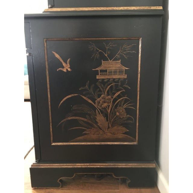 Gold John Hall Designs Chinese Chippendale Cupboard For Sale - Image 8 of 11