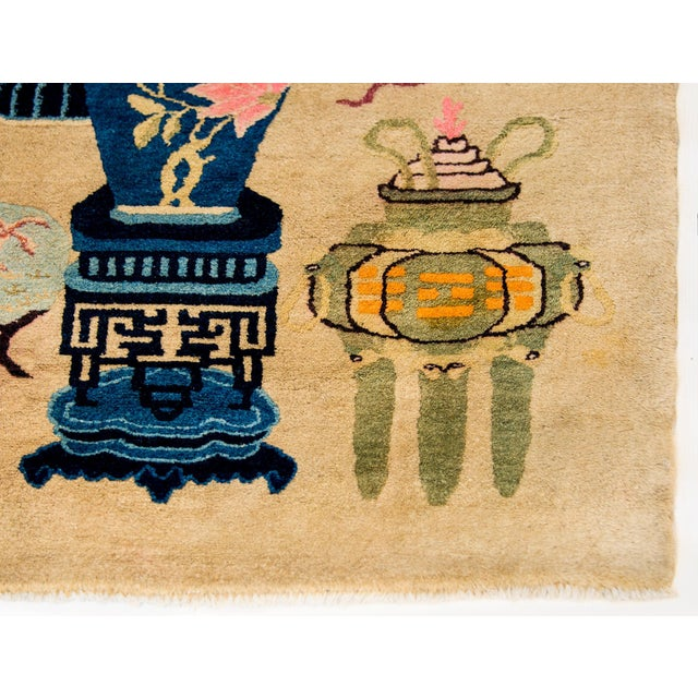 Early 20th Century Chinese Art Deco Rug For Sale In Chicago - Image 6 of 8