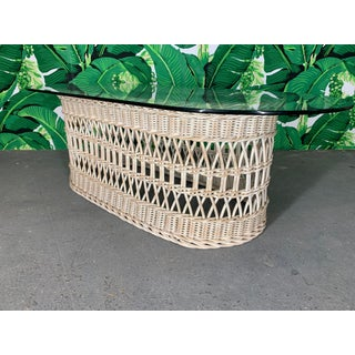 Woven Rattan and Wicker Coffee Table Preview