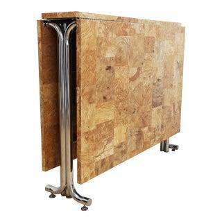 70s Folding Gate-Leg Dining Table - Milo Baughman Style For Sale