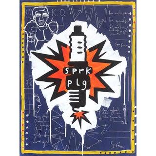 """""""Spark Plug"""" Original Artwork by Soren Grau For Sale"""