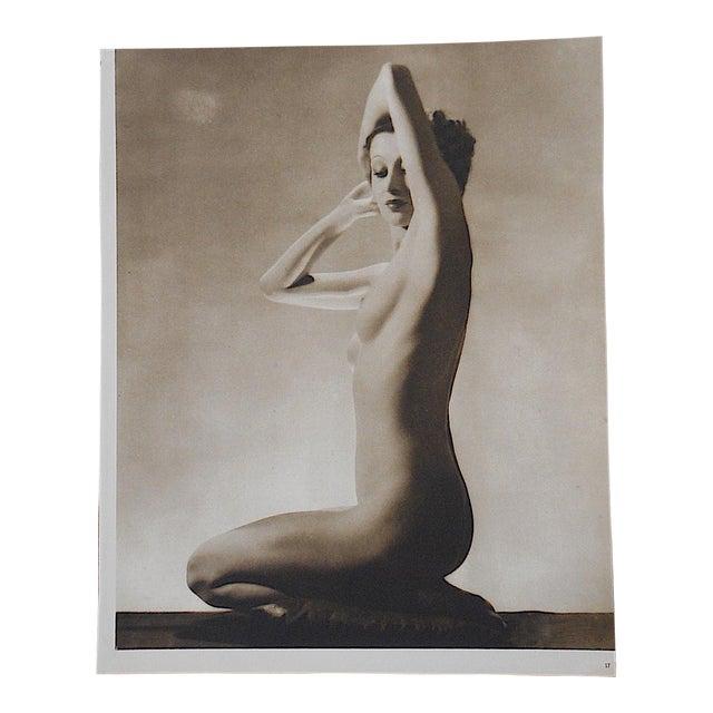 Vintage Art Deco Nude Photogravure - Image 1 of 3