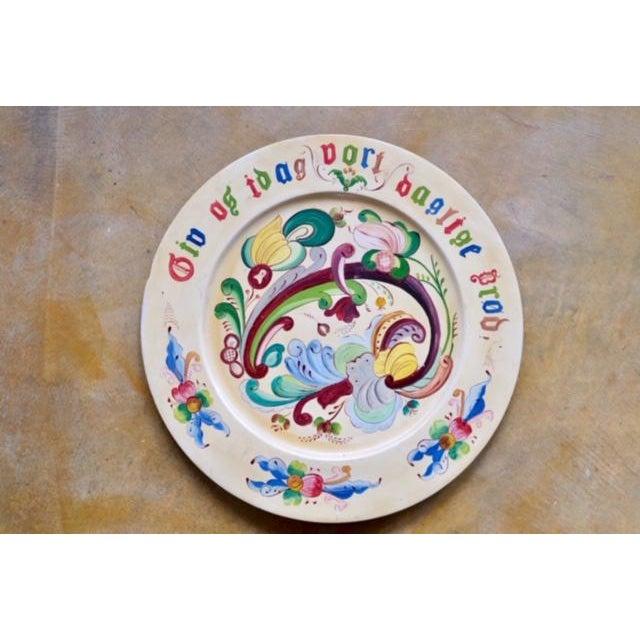 1800s Norwegian Bread Platter, Signed For Sale - Image 11 of 11