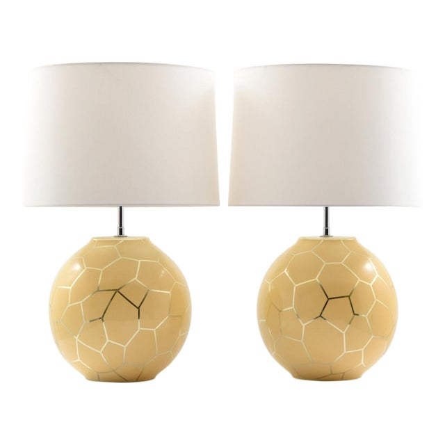 1980s Contemporary Karl Springer Lamps - a Pair For Sale - Image 10 of 10