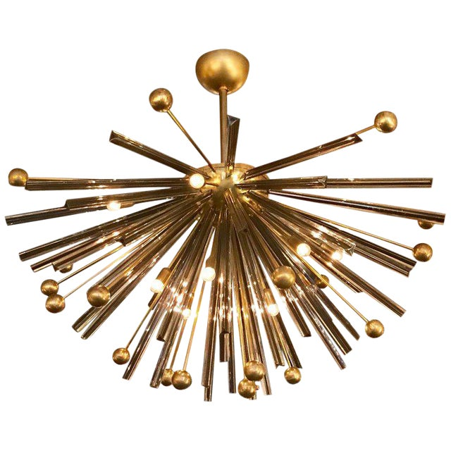 Autunno Sputnik Chandeliers / Flush Mounts by Fabio Ltd (2 Available) For Sale