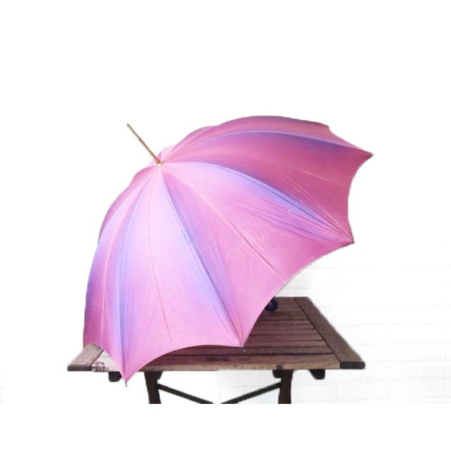 Vintage Purple Touch N Go Umbrella - Image 2 of 5