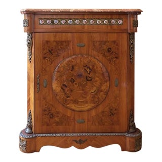French Marquetry Commode For Sale