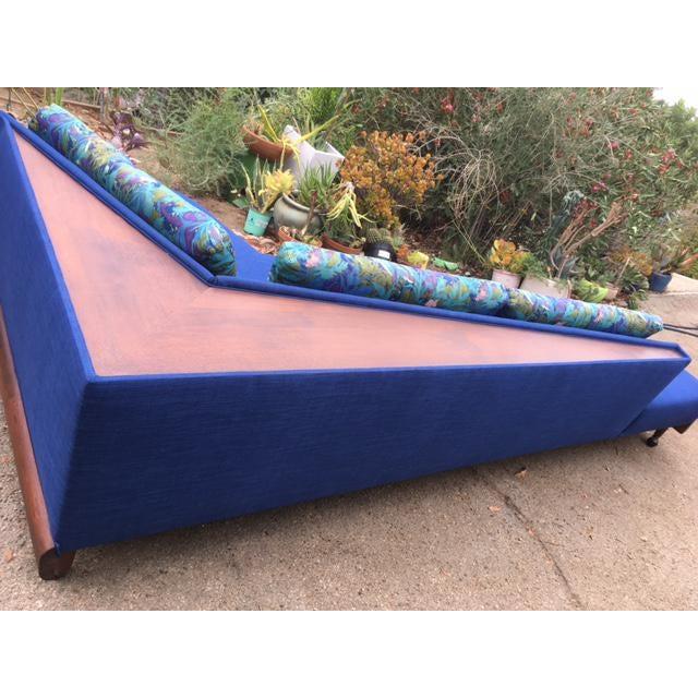 Mid Century Adrian Pearsall for Craft Associates Model 1800 Boomerang Sofa - Image 9 of 11